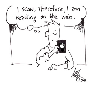 scanning the web